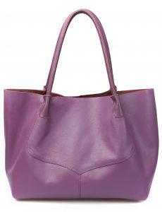 Obi Bag in Purple Saben